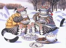 Белые сенсорики и чай